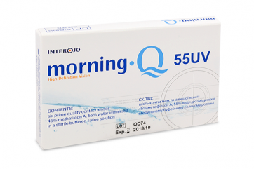 Контактные линзы Morning Q 55UV